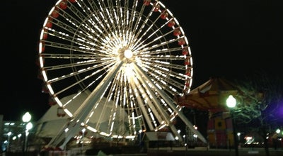 Photo of Theme Park Ride / Attraction Ferris Wheel at Navy Pier at 600 E Grand Ave, Chicago, IL 60611, United States