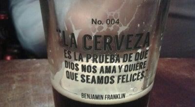 Photo of Beer Garden Barrio santo at Carranza, Aguascalientes, Mexico