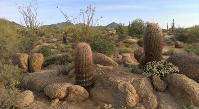Photo of Trail Usery Mountain Park Crismon Rd Gate at Mesa, AZ, United States