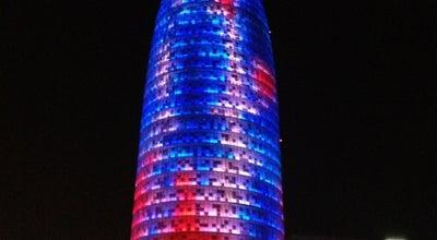 Photo of Building Torre Agbar at Avinguda Diagonal, 211, Barcelona 08018, Spain