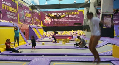 Photo of Theme Park TRAMPOLINE PARK at The Portal, Mayflower Street, Mandaluyong City 1554, Philippines