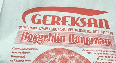 Photo of Bakery GER-EK-SAN at Turkey