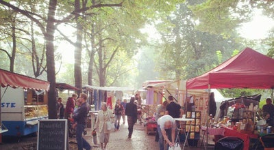 Photo of Farmers Market Wochenmarkt Boxhagener Platz at Boxhagener Platz, Berlin 10245, Germany