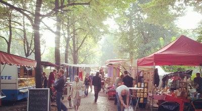 Photo of Farmers Market Wochenmarkt Boxhagener Platz at Boxhagener Platz, Berlin 10245, Germany