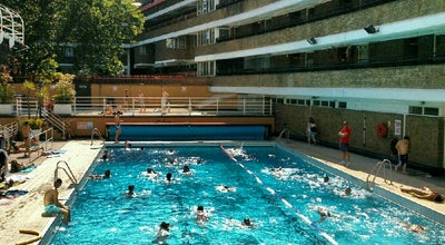 Photo of Pool Oasis Outdoor Swimming Pool at 32 Endell St, London WC2H 9AG, United Kingdom