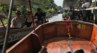 Photo of River Damnoen Floating Market at Thailand