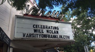 Photo of Indie Movie Theater Varsity Theatre at 123 E Franklin St., Chapel Hill, NC 27514, United States