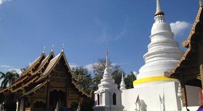 Photo of Buddhist Temple วัดพระสิงห์วรมหาวิหาร (Wat Phra Sing Waramahavihan) at Samlan Rd, Mueang Chiang Mai 50000, Thailand