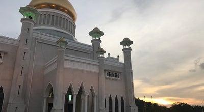 Photo of Park Taman Omar Ali Saifuddien at Bandar Seri Begawan, Brunei Darussalam, Brunei