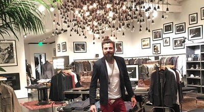 Photo of Clothing Store John Varvatos West Hollywood at 8800 Melrose Ave, West Hollywood, CA 90069, United States