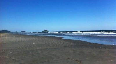 Photo of Beach Praia de Pontal do Sul at Pr. De Pontal Do Sul, Pontal do Paraná, Brazil