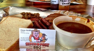 Photo of BBQ Joint Hitch -N- Post BBQ at 2930 N White Sands Blvd, Alamogordo, NM 88310, United States