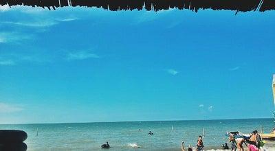 Photo of Beach Restoran Pondok Permai - Pantai Cermin at Desa Kota Pari, Indonesia