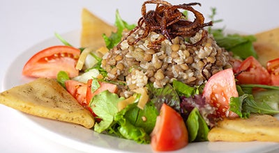 Photo of Mediterranean Restaurant Pita Jungle at 20910 N Tatum Blvd, Phoenix, AZ 85050, United States