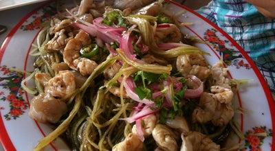 Photo of Seafood Restaurant Los Aguachiles at Av. Constituyentes, Playa del carmen 77720, Mexico