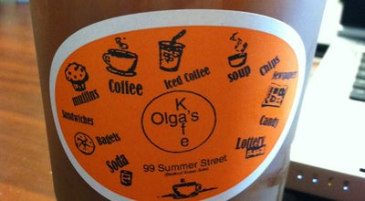 Photo of Cafe Olga's Kafe at 99 Summer St, Boston, MA 02110, United States