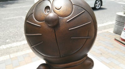 Photo of Monument / Landmark 向ヶ丘遊園駅 ドラえもん像 at 多摩区登戸, 川崎市 214-0014, Japan
