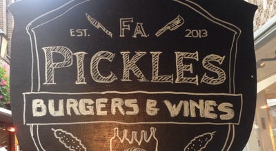 Photo of American Restaurant Firma Pickles at Drieharingstraat 1-3, Utrecht 3511 BH, Netherlands
