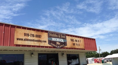 Photo of BBQ Joint Stubbs Bbq at 2440 Jefferson Davis Highway, Sanford, NC 27332, United States