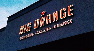 Photo of Burger Joint Big Orange at 207 N University Ave, Little Rock, AR 72205, United States