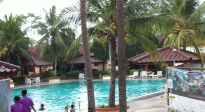 Photo of Pool Horison Hotel Swimming Pool at Jl. Dr. Angka 71, Purwokerto, Indonesia
