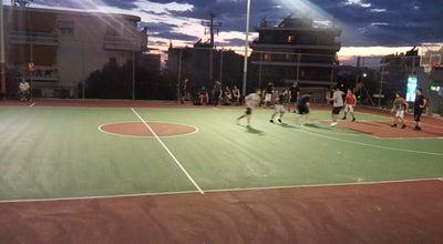 Photo of Basketball Court Γήπεδο καλαθοσφαίρισης Γ.Σ.Η. at Greece