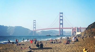Photo of Beach San Francisco Baker Beach at Gibson Rd, San Francisco, Ca 94129, United States
