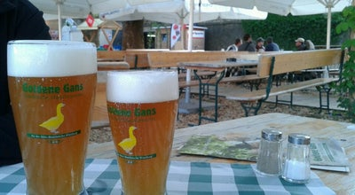 Photo of Beer Garden Biergarten Goldene Gans at Leonard-frank-promenade, Würzburg 97082, Germany