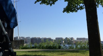 Photo of Lake Badbryggan Pampas at Solna, Sweden