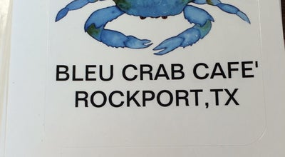 Photo of Cafe Bleu Crab Cafe' at 1820 Colorado St, Rockport, TX 78382, United States