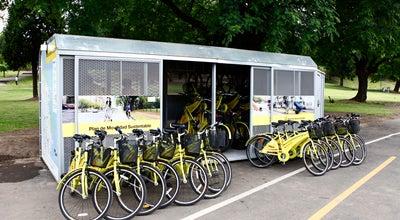 Photo of Bike Rental / Bike Share Estación Parque Lezama [Ecobici] at Av. Brasil 100, Buenos Aires, Argentina