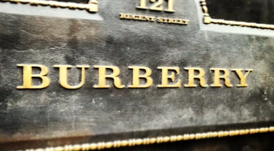 Photo of Clothing Store Burberry at 121 Regent St., London W1B 4TB, United Kingdom