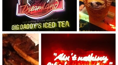 Photo of BBQ Joint Dreamland Bar-B-Que Ribs at 101 Bridge Ave, Northport, AL 35476, United States