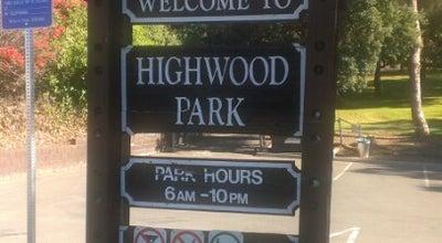 Photo of Playground Highwood Park at La Mesa, CA 91941, United States