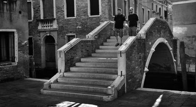 Photo of Plaza Campo San Giacomo da l'Orio at Venice, Italy