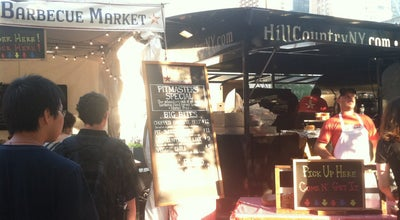Photo of American Restaurant Hill Country Barbecue Market Pop Up at New York, NY, United States