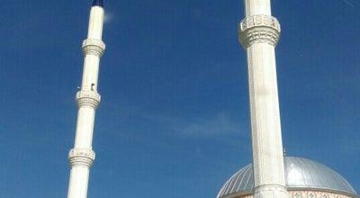 Photo of Mosque Alsancak Camii at 75. Yil Ilkogretim Okulu Karsisi, Edremit, Turkey