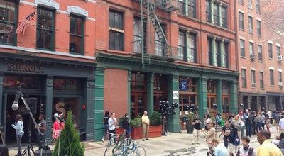 Photo of Cafe The Smile @ Shinola Flagship Tribeca at 177 Franklin St, New York, NY 10013, United States