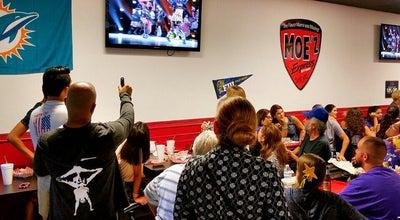 Photo of New American Restaurant Moe'z Express Restaurant at Miami, FL, United States