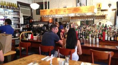 Photo of Cafe The Cornelia Street Cafe at 29 Cornelia St, New York, NY 10014, United States