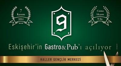 Photo of Gastropub 9 Gastro&Pub at Haller Gençlik Merkezi, Eskişehir 26170, Turkey