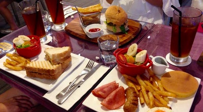 Photo of Cafe Birkin Waffle Café at 介壽街1號, Taiwan