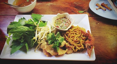 Photo of Chinese Restaurant ก๋วยเตี๋ยวเดินดง at Suphan-buri, สุพรรณบุรี, Thailand