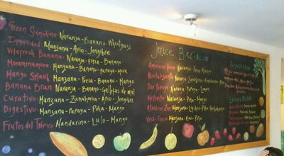 Photo of Juice Bar SanaQueSana Gourmet at Calle 95 # 11a - 18, Colombia