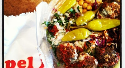 Photo of Falafel Restaurant Pilpel Falafel at 38 Brushfield St., London E1 6AT, United Kingdom