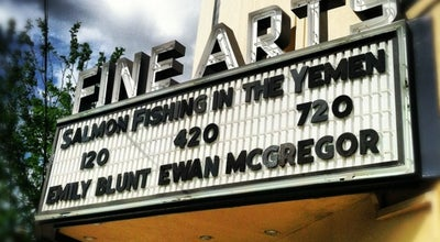 Photo of Indie Movie Theater Fine Arts Theatre at 36 Biltmore Ave, Asheville, NC 28801, United States