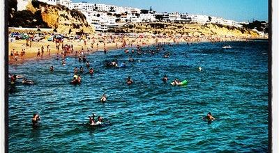 Photo of Beach Praia da Oura at R. Ramalho Ortigão, Praia da Oura 8200, Portugal