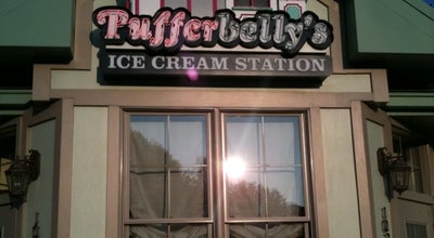Photo of Ice Cream Shop Pufferbelly's Ice Cream Station at 1024 Fairmont Ave, Fairmont, WV 26554, United States