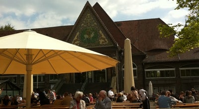Photo of Beer Garden Stadtwaldhaus at Hüttenallee 108, Krefeld 47800, Germany