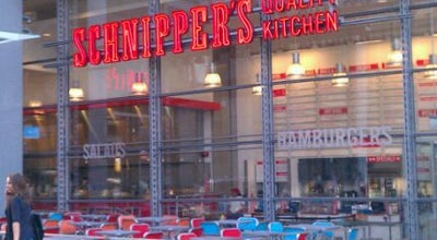 Photo of American Restaurant Schnipper's Quality Kitchen at 628 8th Ave, New York, NY 10018, United States